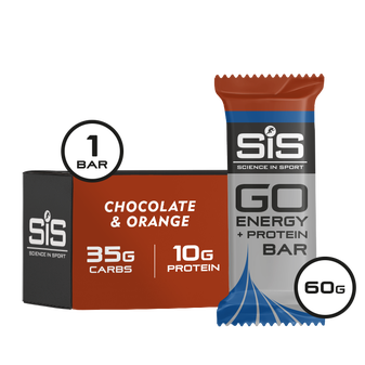 GO Energy + Protein Bar (Chocolate & Orange)