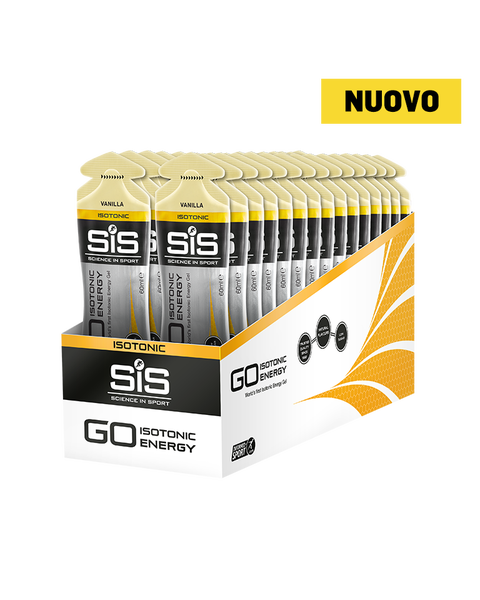 GO Isotonic Energy Gel  - 30 Pack - Vanilla