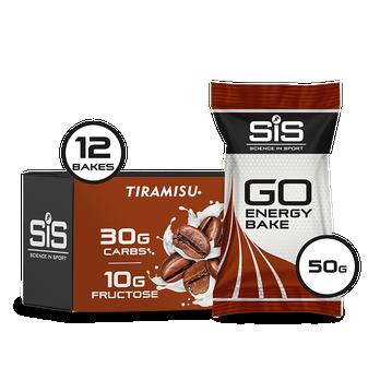 GO Energy Bakes - 12 Pack (Tiramisu)