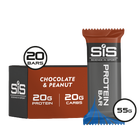 SiS Protein Bar 55g 20 Pack Chocolate & Peanut