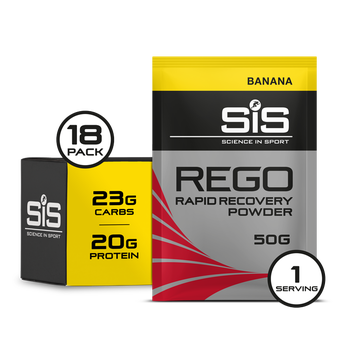 REGO Rapid Recovery Sachets - 18 Pack (Banane)