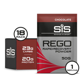 SiS REGO Rapid Recovery Protein 50g Sachets 18 Pack Chocolate