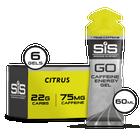GO Energy + Caffeine Gel  - 6 Pack (Citrus)