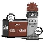 GO Energy + Caffeine Gels - 6 Pack