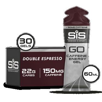 GO Energy + Double Caffeine Gel - 30 Pack - Double Espresso
