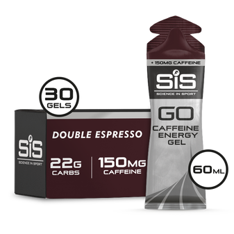 GO Energy + Caffeine Gels - 30 Pack