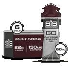 GO Energy + Caffeine Gel  - 6 Pack (Espresso)