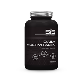Daily multivitamin has 7 essential vitamins and minerals with key benefits of reducing tiredness and fatigue and supports the immune system. Each tub contains 60 tablets with a suggested use of 1 per day.