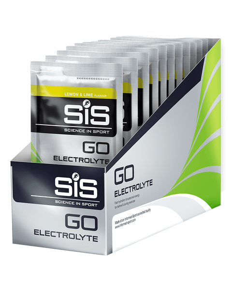 GO Electrolyte - 18 Pack (Lemon & Lime)