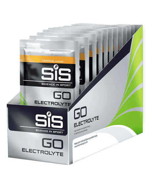 SiS GO Electrolyte 40g 18 Pack Lemon & Lime