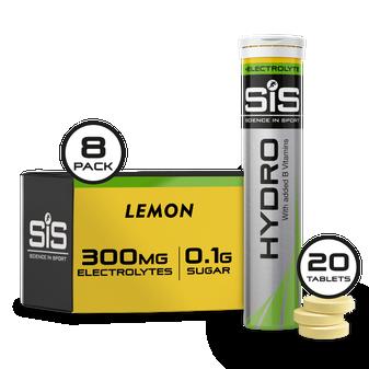 GO Hydro Tabletten - 8er Pack - Zitrone