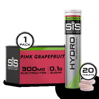 SiS Hydro - 20 Tabletas de hidratacion (Toronja rosa)