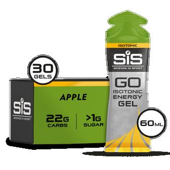 SiS GO Isotonic Energy Gel - 30 Pack - Apple