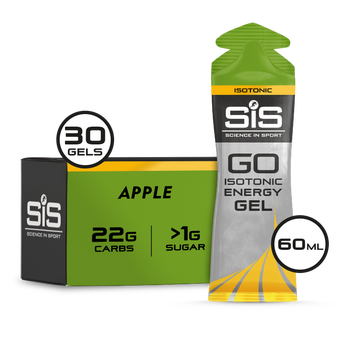 SiS GO Isotonic Gel 60ml 30 Pack Apple