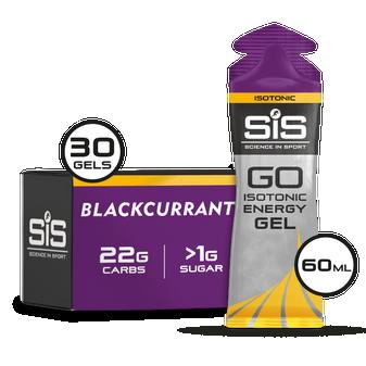 GO Isotonic Energy Gel - 30 Pack (Schwarze Johannisbeere)