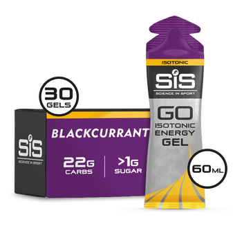 SiS GO Isotonic Gel 60ml 30 Pack Blackcurrant