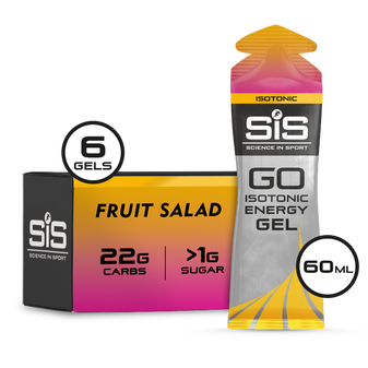 GO Isotonic Energy Gel 60ml 6 Pack - Tutti-Frutti