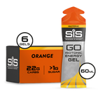 SiS GO Isotonic Gel 60ml 6 Pack Orange