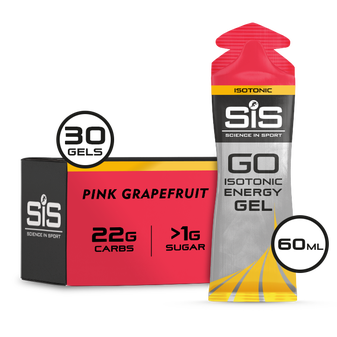 GO Isotonic Energy Gel - 30 Pack - Pink Grapefruit