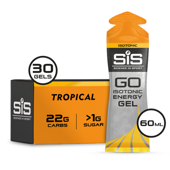 SiS GO Isotonic Gel 60ml 30 Pack Tropical