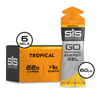 GO Isotonic Energy Gel 60ml 6 Pack - Tropical
