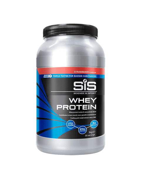 SiS Whey Protein 1kg Strawberry