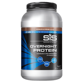 Overnight Protein - 1kg (Cookies & Cream)