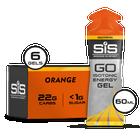 GO Isotonic Energy Gel - 6 Pack