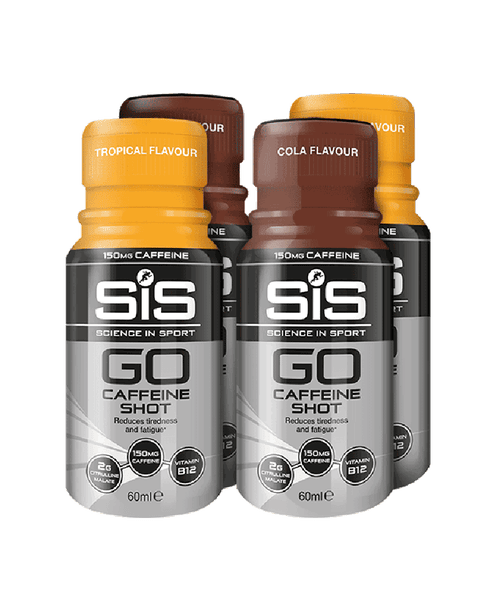 GO Caffeine Shot Bundle (4 x 60ml)