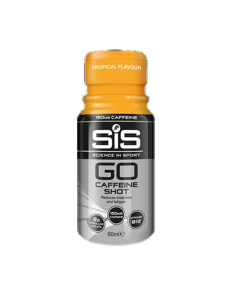 GO Caffeine Shot - 1 x 60ml (Tropical)