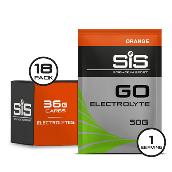 GO Electrolyte Orange Sachet 18 Pack
