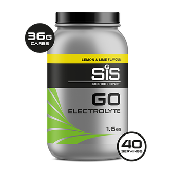 SiS GO Electrolyte 1.6kg Lemon & Lime