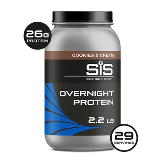 Overnight Protein Powder 1kg - Cookies & Cream