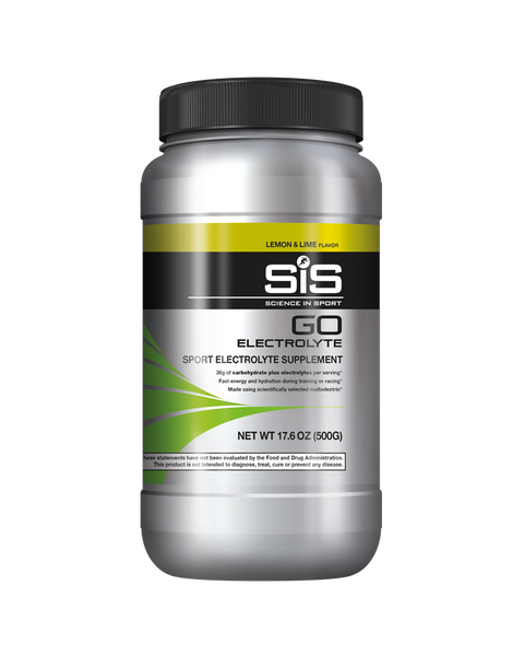 GO Electrolyte 17.6oz - Lemon & Lime