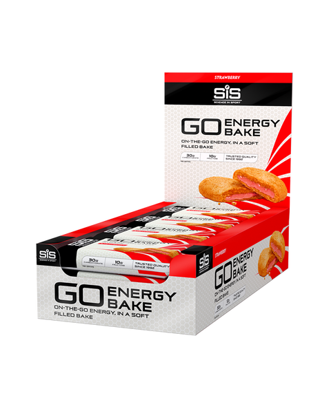 SiS GO Energy Bakes - 12 Pack - Strawberry
