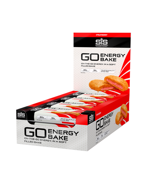 SiS GO Energy Bakes - 12 Pack (Strawberry)