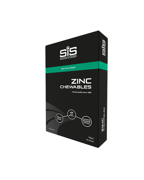 Zinc Chewables 10mg - 90 tablets (Mint)