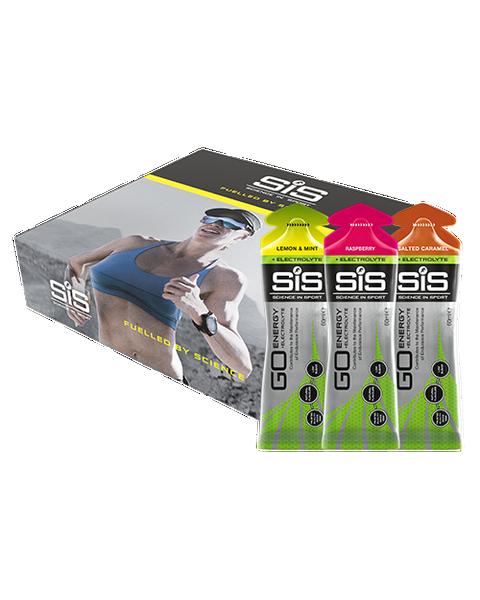 Science in Sport Electrolyte Gel Mixed (12 x 60ml)