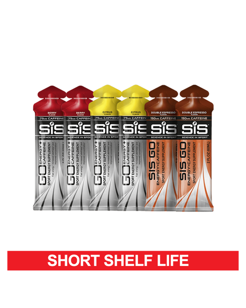 Caffeine + Energy Gel Variety Pack