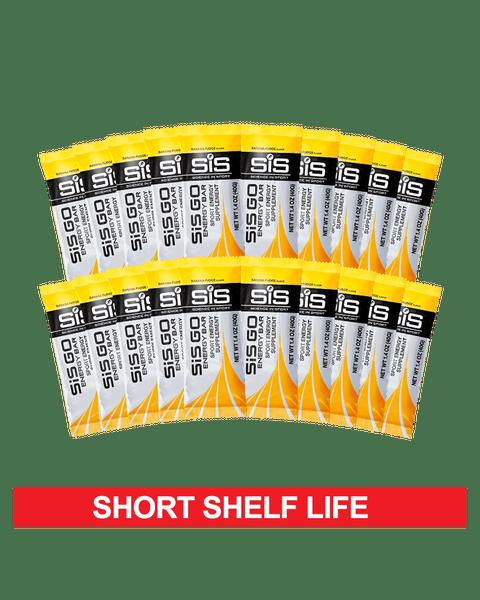 GO Energy Bar 20 Pack - Banana Fudge - Clearance