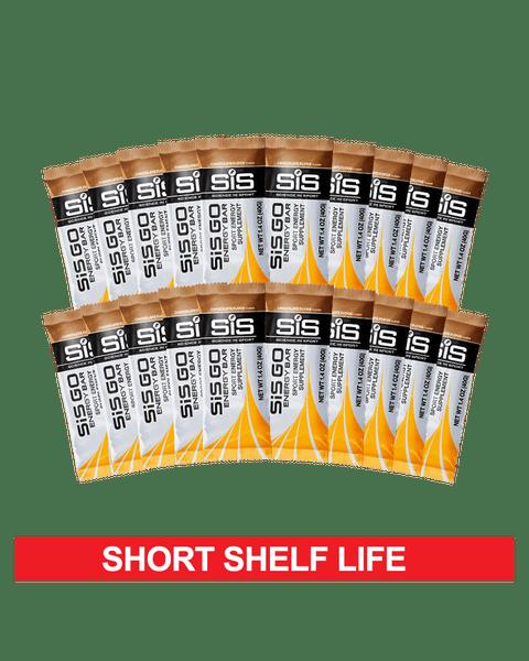 GO Energy Bar 20 Pack - Chocolate Fudge - Clearance