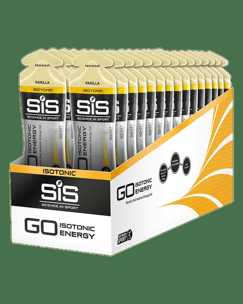 GO Isotonic Energy Gel  - 30 Pack (Vanilla)