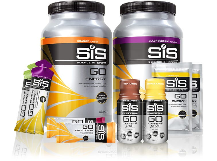 SiS Energy - Powders, bars & gels.