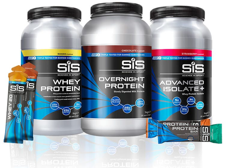 SiS Rebuild-serie - proteïnepoeders, -repen & WHEY20.