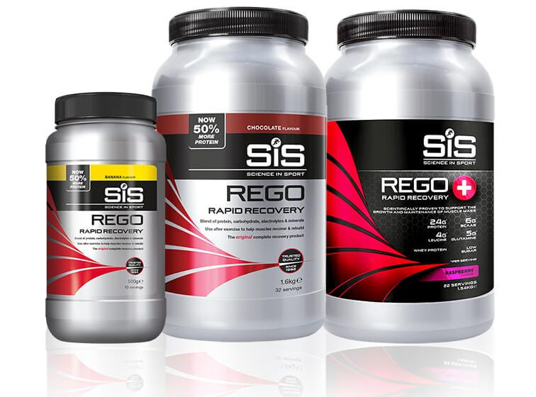 SiS REGO Rapid Recovery Powders - for improved recovery.