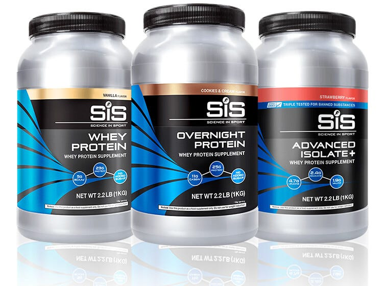 SiS Rebuild - Protein powders to aid growth & lean muscle mass