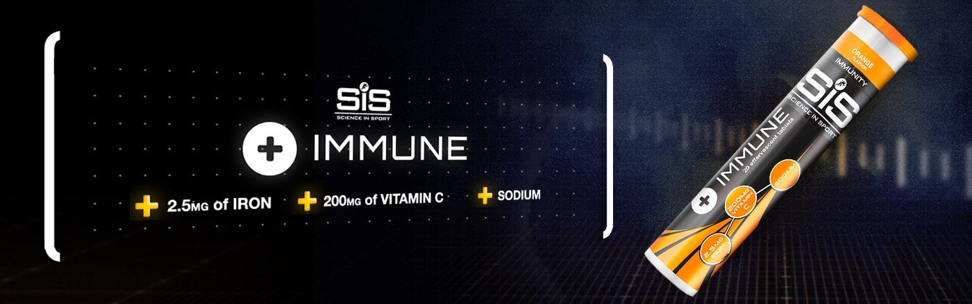Designed to support & maintain immune function before and after excercise